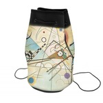 Kandinsky Composition 8 Neoprene Drawstring Backpack