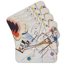 Kandinsky Composition 8 Cork Coaster - Set of 4