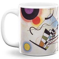 Kandinsky Composition 8 11 Oz Coffee Mug - White