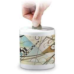 Kandinsky Composition 8 Coin Bank