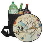 Kandinsky Composition 8 Collapsible Cooler & Seat