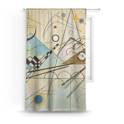Kandinsky Composition 8 Curtain