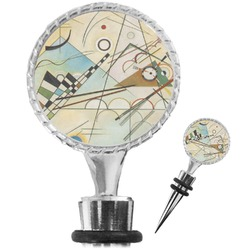 Kandinsky Composition 8 Wine Bottle Stopper