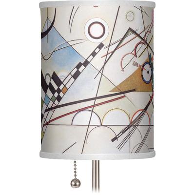 "Kandinsky Composition 8 7"" Drum Lamp Shade"