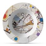 Kandinsky Composition 8 Plastic Bowl - Microwave Safe - Composite Polymer