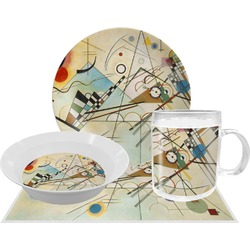 Kandinsky Composition 8 Dinner Set - 4 Pc