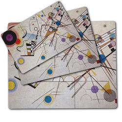 Kandinsky Composition 8 Dog Food Mat