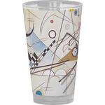 Kandinsky Composition 8 Drinking / Pint Glass