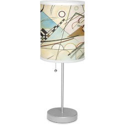 "Kandinsky Composition 8 7"" Drum Lamp with Shade"