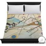Kandinsky Composition 8 Duvet Cover