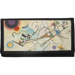 Kandinsky Composition 8 Canvas Checkbook Cover