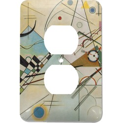 Kandinsky Composition 8 Electric Outlet Plate