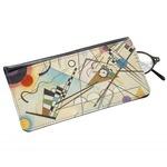 Kandinsky Composition 8 Genuine Leather Eyeglass Case