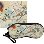Kandinsky Composition 8 Eyeglass Case & Cloth