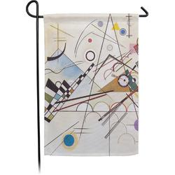 Kandinsky Composition 8 Garden Flag - Single or Double Sided