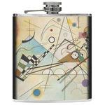 Kandinsky Composition 8 Genuine Leather Flask