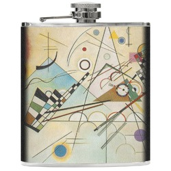 Kandinsky Composition 8 Genuine Leather Flask