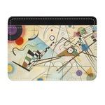 Kandinsky Composition 8 Genuine Leather Front Pocket Wallet