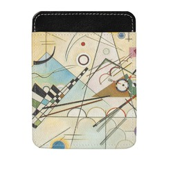 Kandinsky Composition 8 Genuine Leather Money Clip