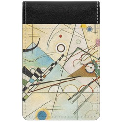 Kandinsky Composition 8 Genuine Leather Small Memo Pad