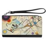 Kandinsky Composition 8 Genuine Leather Smartphone Wrist Wallet