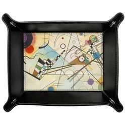 Kandinsky Composition 8 Genuine Leather Valet Tray