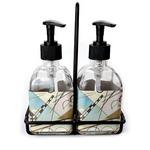 Kandinsky Composition 8 Soap & Lotion Dispenser Set (Glass)