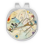 Kandinsky Composition 8 Golf Ball Marker - Hat Clip