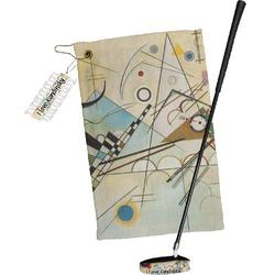 Kandinsky Composition 8 Golf Towel Gift Set