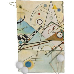 Kandinsky Composition 8 Golf Towel - Full Print