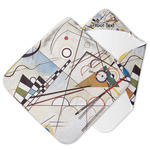 Kandinsky Composition 8 Hooded Baby Towel