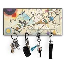 Kandinsky Composition 8 Key Hanger w/ 4 Hooks