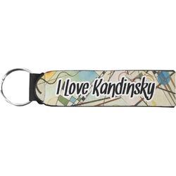 Kandinsky Composition 8 Neoprene Keychain Fob
