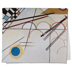 Kandinsky Composition 8 Kitchen Towel - Full Print