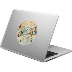 Kandinsky Composition 8 Laptop Decal