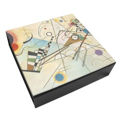 Kandinsky Composition 8 Leatherette Keepsake Box - 8x8
