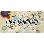 Kandinsky Composition 8 Front License Plate