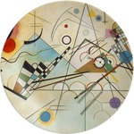 Kandinsky Composition 8 Melamine Plate