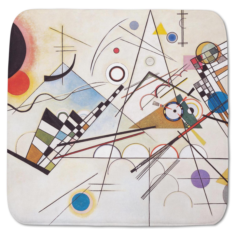 Kandinsky Composition 8 Memory Foam Bath Mat Youcustomizeit