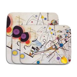 Kandinsky Composition 8 Memory Foam Bath Mat