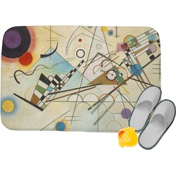 Kandinsky Composition 8 Memory Foam Bath Mat
