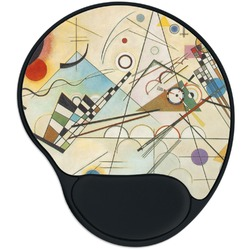 Kandinsky Composition 8 Mouse Pad with Wrist Support