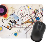 Kandinsky Composition 8 Rectangular Mouse Pad
