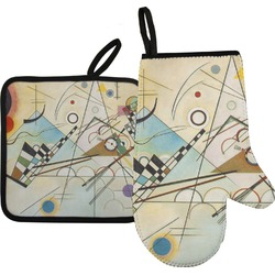 Kandinsky Composition 8 Oven Mitt & Pot Holder