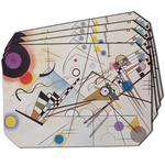 Kandinsky Composition 8 Dining Table Mat - Octagon