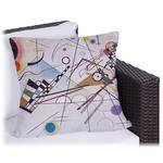 Kandinsky Composition 8 Outdoor Pillow