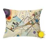 Kandinsky Composition 8 Outdoor Throw Pillow (Rectangular)