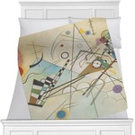 Kandinsky Composition 8 Minky Blanket