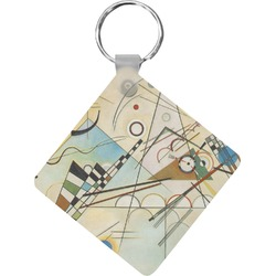 Kandinsky Composition 8 Diamond Key Chain