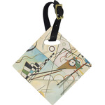 Kandinsky Composition 8 Diamond Luggage Tag
